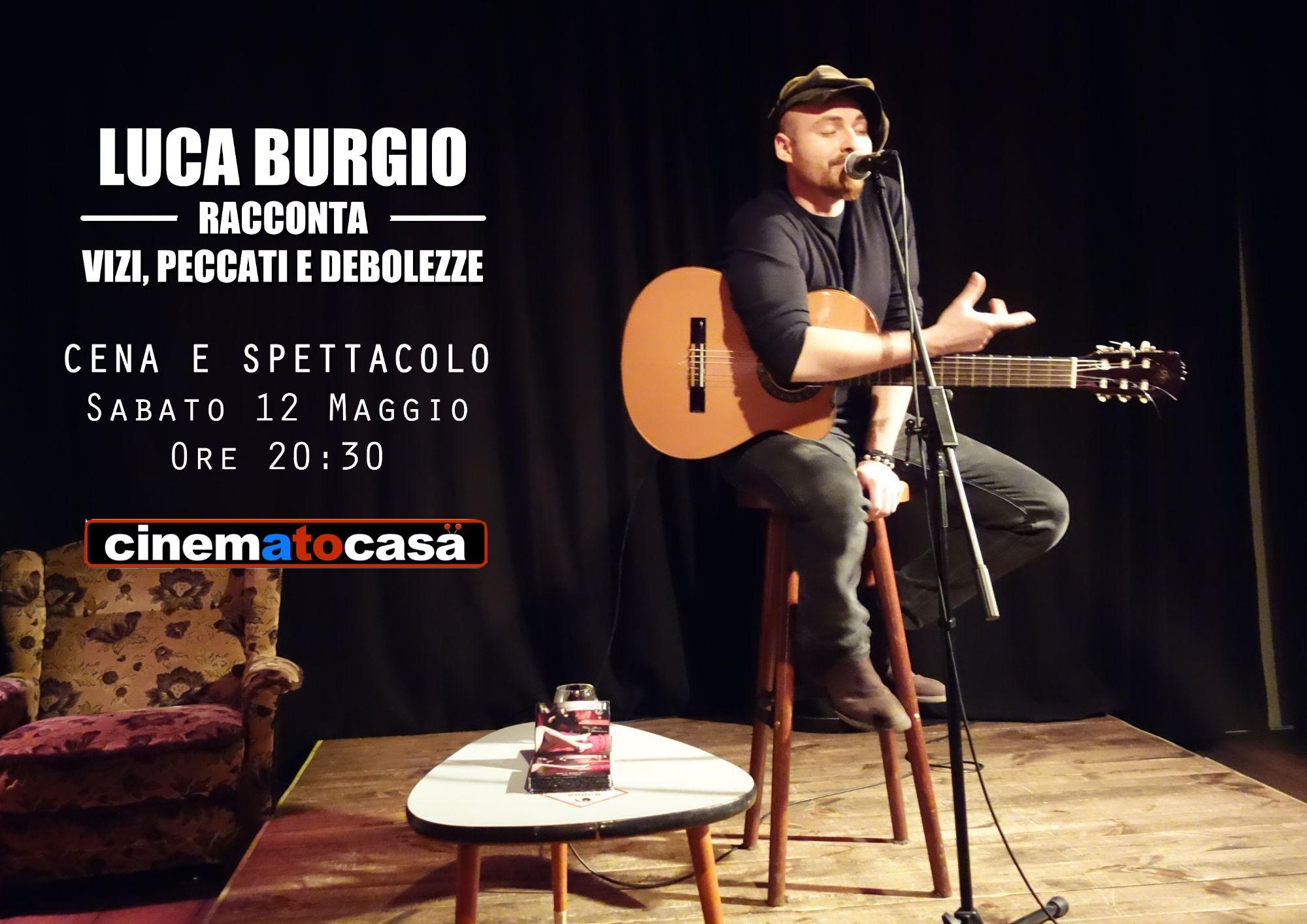 Luca Burgio ritorna a Cinematocasa